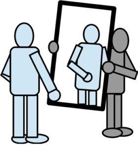 mirroring (spiegelen)