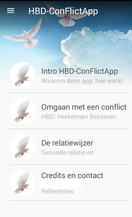 HBD-ConflictApp Image