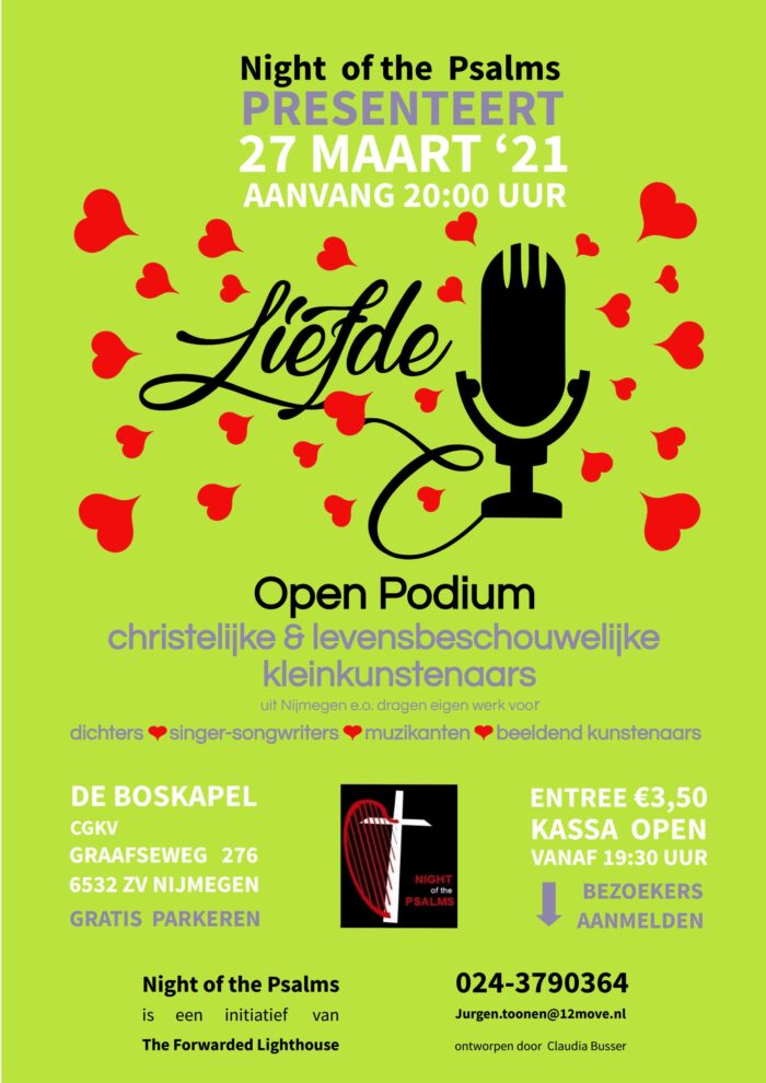 Night of the psalms 2021 Liefde
